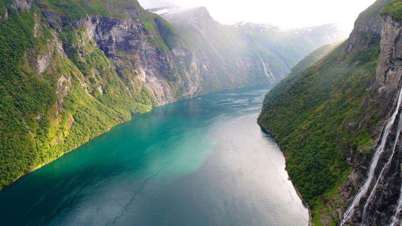 Na plachetnici mezi norskými fjordy 7/2017